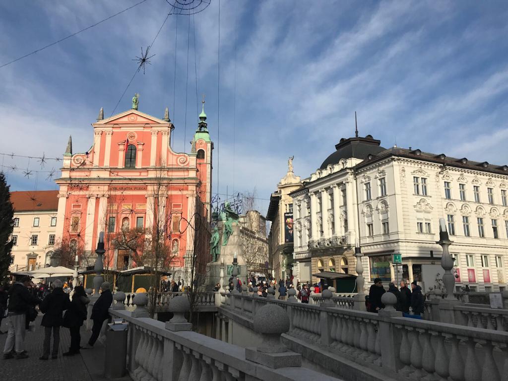 ponte triplo lubiana slovenia