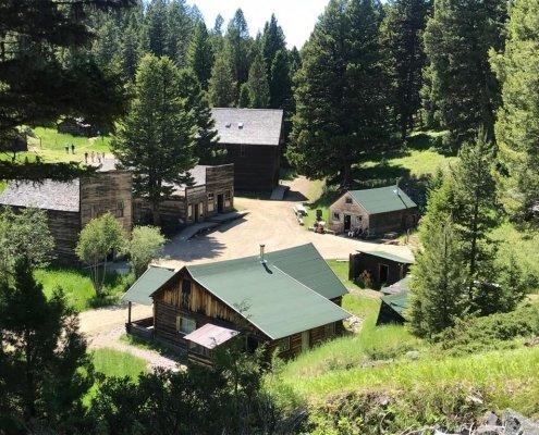 ghost town del montana, garnet