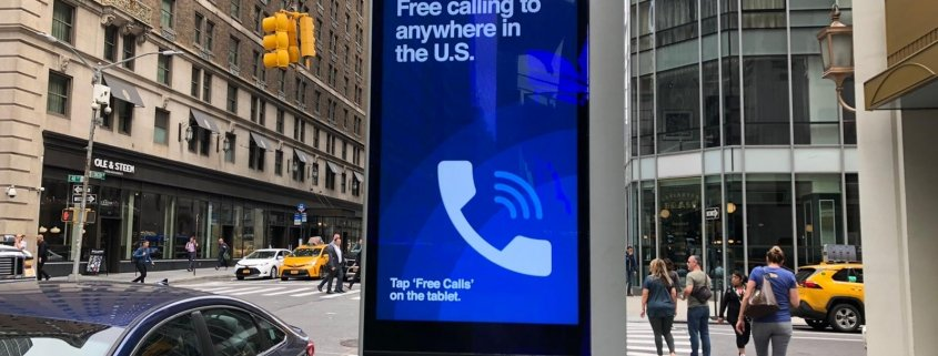 sim usa colonnina wi-fi a new york
