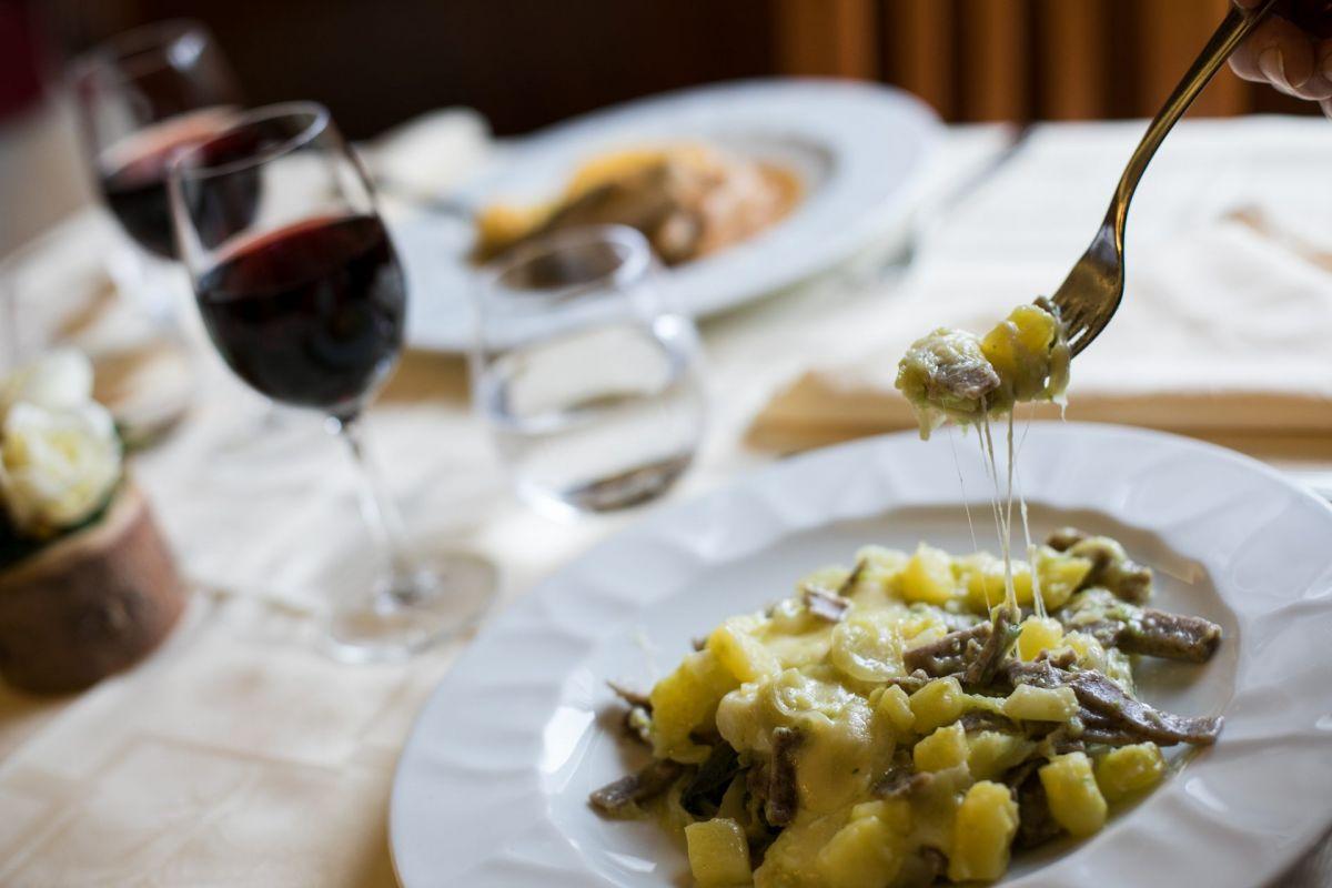 I piatti dello chef dell'Hotel Daniela