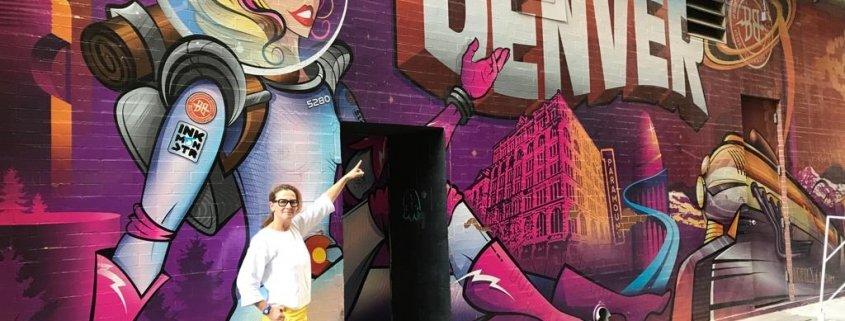 denver colorado usa murales