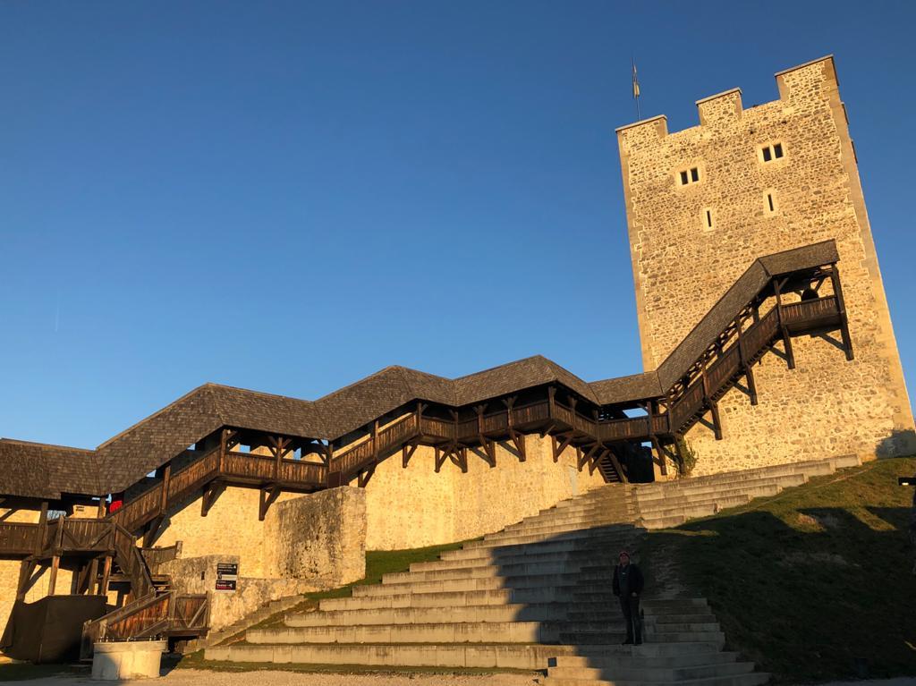 Il Castello di Celje in Slovenia