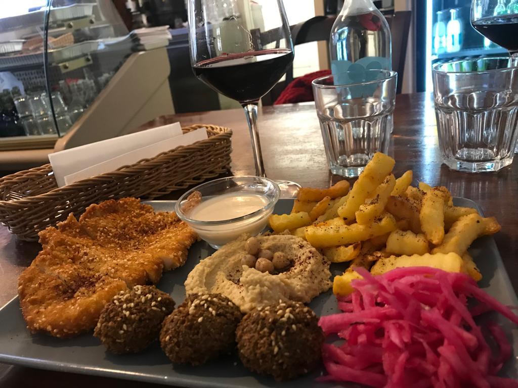Falafel al Mr Falafel di Maribor in slovenia