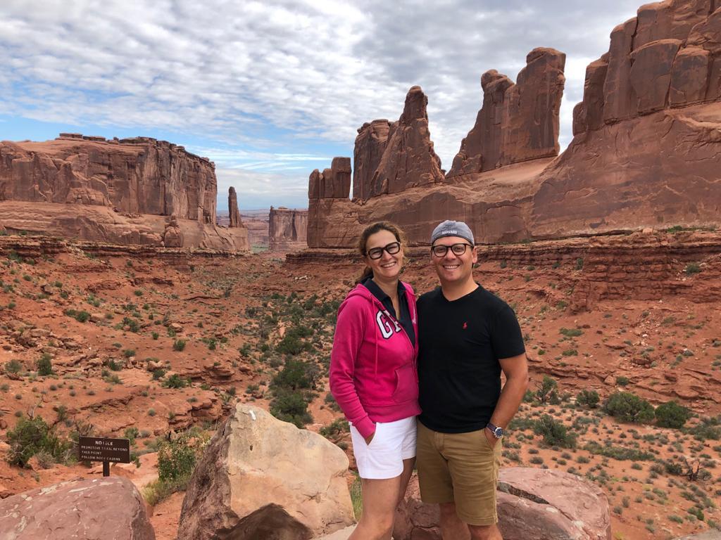 Viaggiare low cost negli Stati Uniti: Arches National Park nello Utah Stati Uniti