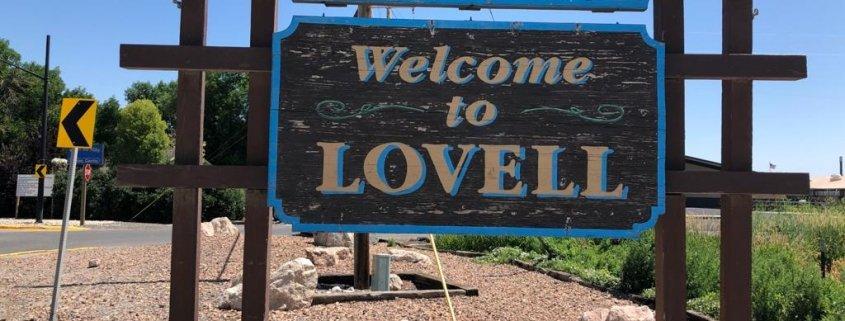 città americane di provincia Lovell in Wyoming