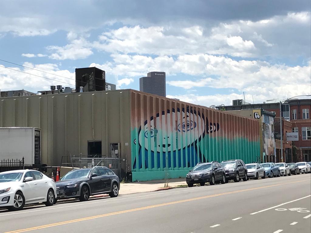 street art a denver colorado usa
