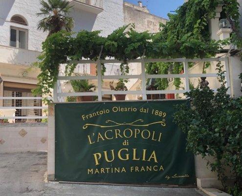 frantoio l'acropoli di puglia martina franca ingresso