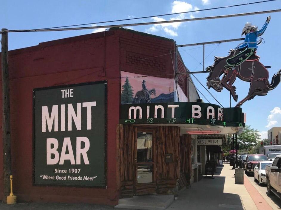 sheridan in wyoming the mint bar