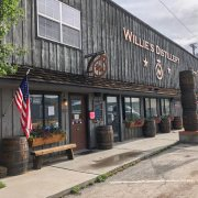 Willie's distillery a Ennis in Montana