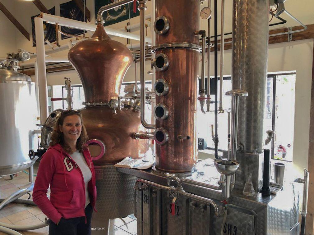 Willie's distillery a Ennis in Montana