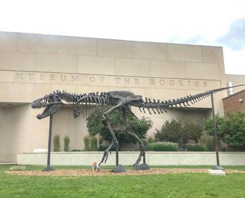 dinosauri big mike bozeman montana