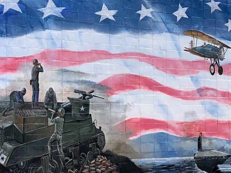 lovell wyoming parco dei veterani