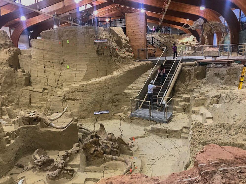 mammoth site hot springs in south dakota il sito con i fossili di mammut