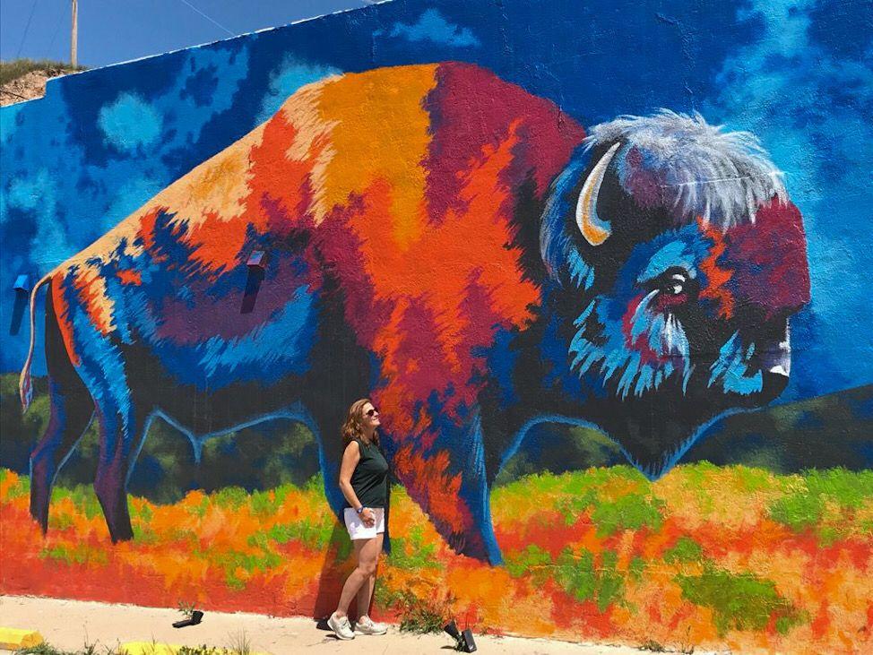 street art spirit of the springs hot springs south dakota